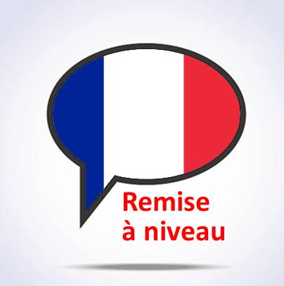 Cours de Français Remise à niveau